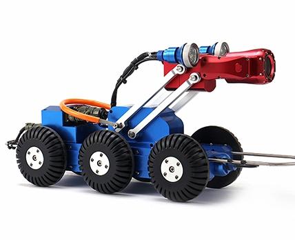 使用管道检测机器人的优势