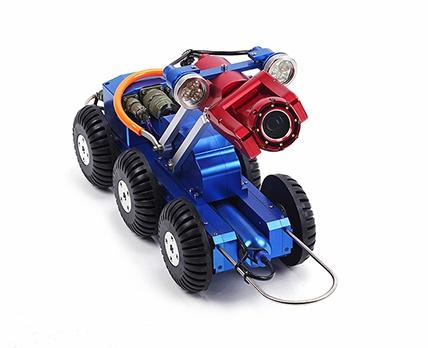 管道机器人国内发展